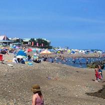 *【周辺】夏はやっぱり海水浴!大洗サンビーチも徒歩圏内です。