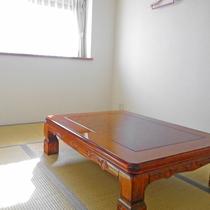 *お部屋一例 座敷 お部屋タイプによっては寝室が座敷のお部屋もございます。