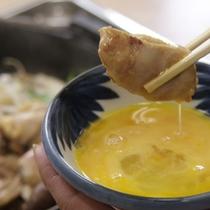 地鶏すき焼き