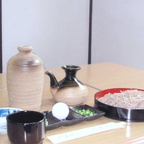 【蕎麦打ち体験】