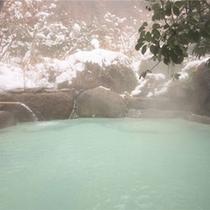 ☆冬の貸切露天風呂☆