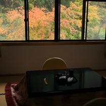 ★部屋・紅葉★