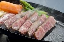 薩摩黒牛ステーキ鉄板