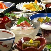 安心・安全な食材が並びます☆(お食事例)