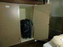 7人室ロッカー 下段使用例