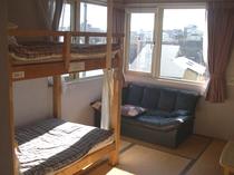 6畳和室2段ベッド