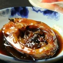 夕食_鯉の甘露煮