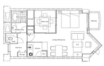 スタジオスイート・Tatami平面図