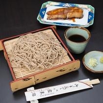 *【夕食一例】常陸太田といえば『常陸秋そば』!山里の恵みをご賞味ください。