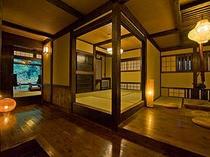 特別室【松月】囲炉裏付客室