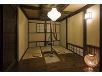 特別室【松月】囲炉裏付客室3