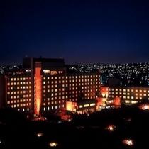◇那覇の夜景にホテルの雰囲気もかわります