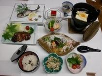 夕食料理(会席)