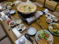 鍋料理 4人前(例)