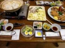 鍋料理 4人前(例) 2