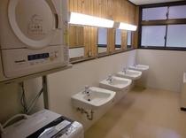 共同洗面所、洗濯機・乾燥機