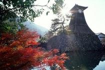 秋の辰鼓楼