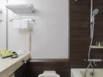 ツインコンパクトルーム・ツインルーム・ツインデラックスルーム バスルーム