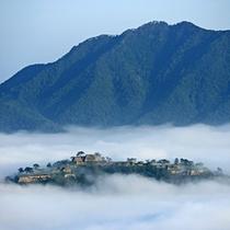 大人気の竹田城へは当館より約28分と便利♪