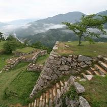 日本のマチュピチュとも称される「竹田城跡」