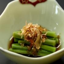 山菜の小鉢