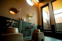 ホタルの湯洗い場