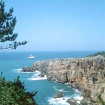 【三段壁】当館より車で約5分★断崖絶壁の名勝で、展望台からは雄大な南紀の海景を見ることができます。