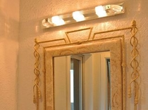 【ツイン】コロンと可愛く光る、洗面台の3つの明かり♪