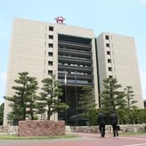 福井県庁(福井城址内)