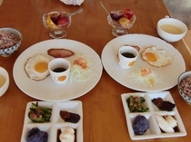 朝食付きプラン 食事