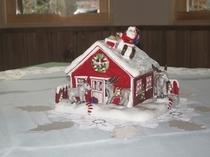 クリスマス飾りキャンドルハウス