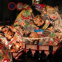 *【弘前ねぷたまつり】夏の一大イベント!極彩色豊かに描かれた武者絵・太鼓の音は圧巻です。
