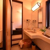 *和室(客室一例)/清潔を心掛けた洗面スペース。