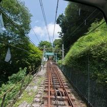 *遠くに駅が見えてきましたね!