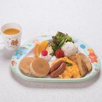 *【朝食:キッズモーニング】たっぷり食べて元気にお出かけして下さいね♪