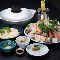 *【寄せ鍋コース】老若男女に愛される寄せ鍋は冬の定番。うまみたっぷりのお鍋をどうぞ。