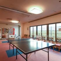 *【湯上り卓球】日帰り温泉の2階に卓球台もあります。軽く運動いかがですか?