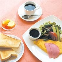 【洋朝食一例】朝はトーストとコーヒーがなくっちゃ!という方にオススメです♪