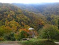 (秋)八滝の展望台