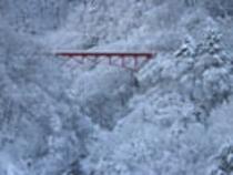 (冬)雪の高山大橋