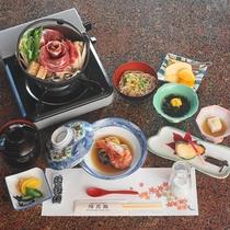 *【夕食一例】~涼コース~量は少なめだけど1品1品じっくり味わってお楽しみいただけます。