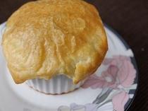パイ包みのキノコスープ