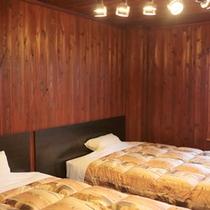 *【客室例】ツインベッドルーム。4名様までご利用頂けます。
