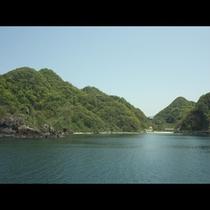 ★遠浅で綺麗★【諸寄海水浴場】