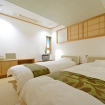 *【ゆずりは】白を基調にまとめられたシンプルベッドルーム