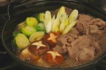 九州のお肉ですき焼き
