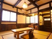 平屋造りのお部屋
