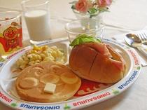 キッズの朝食