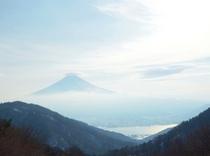 御坂峠の富士山