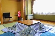 2階6畳和室(冬季)